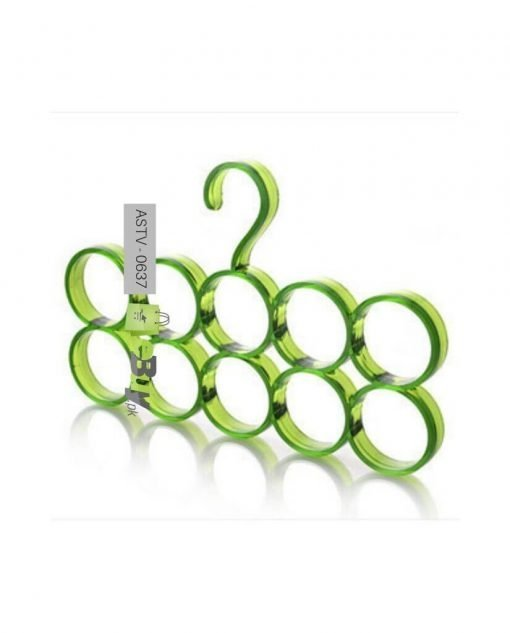 10 Holes Acrylic Scarf Hanger At Best Price In Pakistan 4