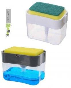 2-in-1 Sponge Soap Dispenser Online In Pakistan