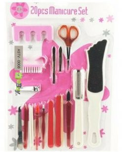 20 Pieces Manicure Pedicure Set Online in Pakistan