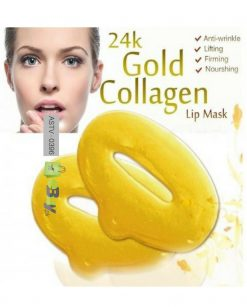 24 K Gold Collagen Anti-Aging Lip Mask Online in Pakistan