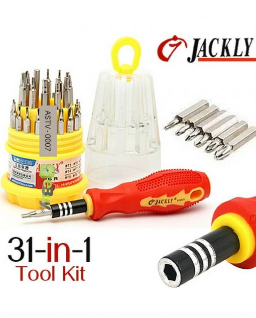31 in 1 Jackly Multifunction Screwdriver Toolkit in Pakistan 3