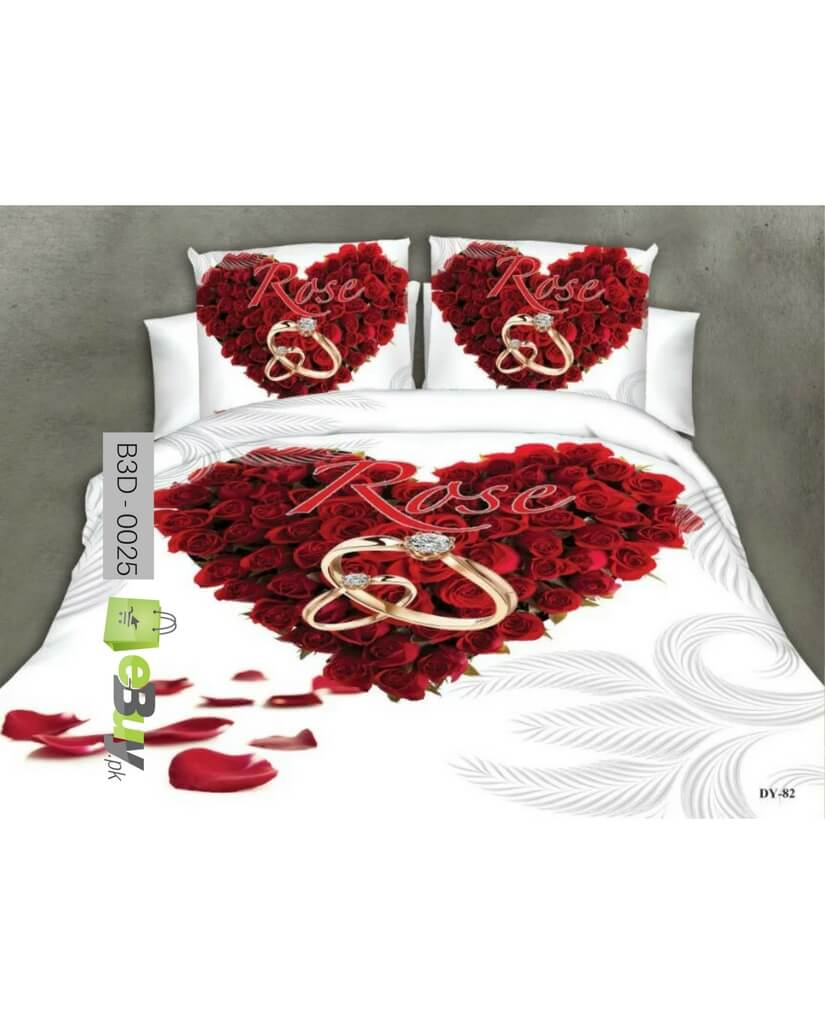 Red Rose Bed Sheets