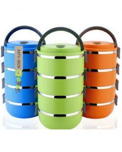 4 Layer Lunch Box Online Shopping in Pakistan