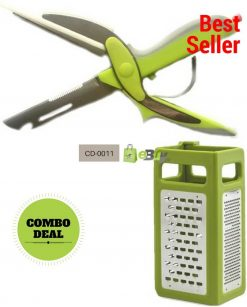 4 in 1 Grater Plus & Clever Cutter 6 in 1 Online in Pakistan