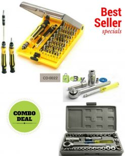40 Pcs Wrench Tool Kit & Screwdriver Set in Pakistan