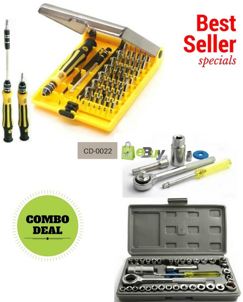 buy 40 pcs wrench tool kit screwdriver set in pakistan. Black Bedroom Furniture Sets. Home Design Ideas
