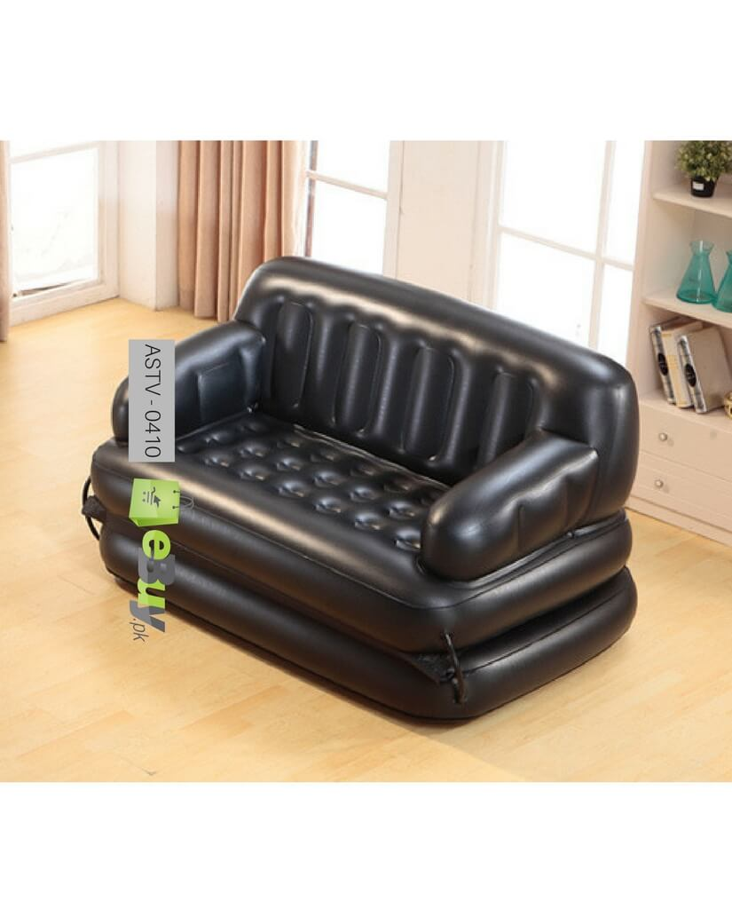 Buy 5 in 1 sofa come bed with free air pump in pakistan for 5 in 1 sofa bed price
