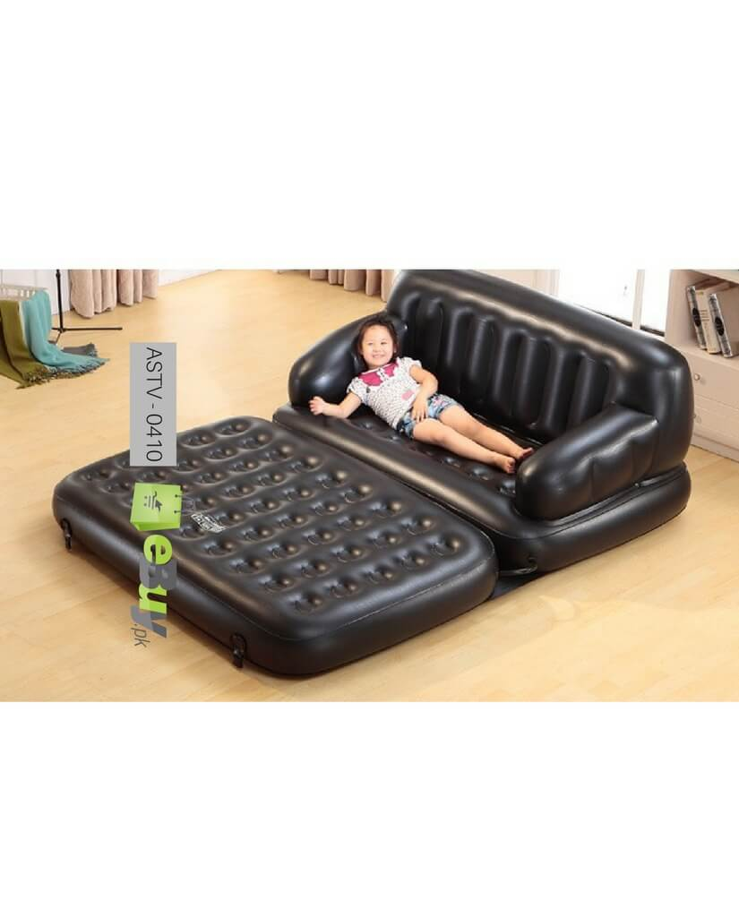 Air Sofa Rate: Buy 5 In 1 Sofa Come Bed With Free Air Pump In Pakistan