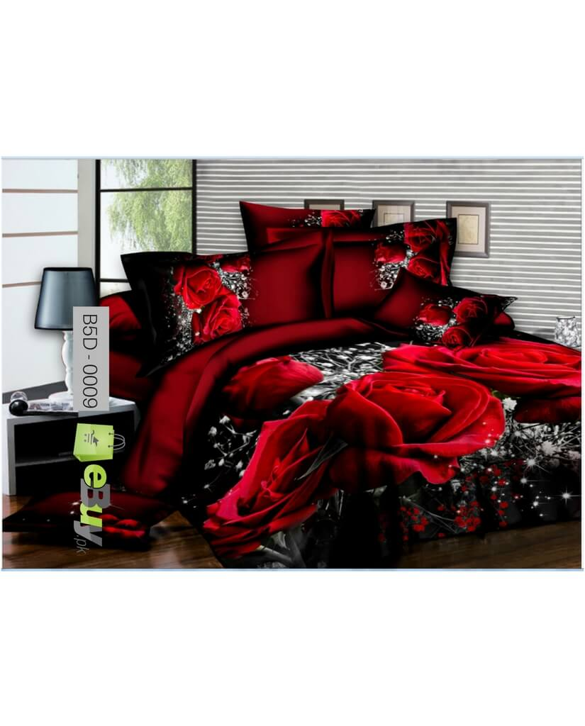 5D Bed Sheets Online In Pakistan