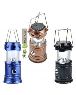 6 LED Solar Camping Lantern Flashlight Lamp in Pakistan