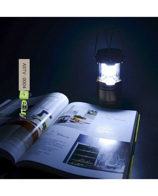 6 LED Solar Camping Lantern Flashlight Lamp in Pakistan 4