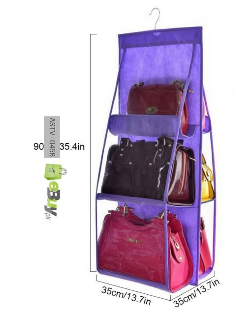 6 Pockets Purse Organizer At Best Price in Pakistan