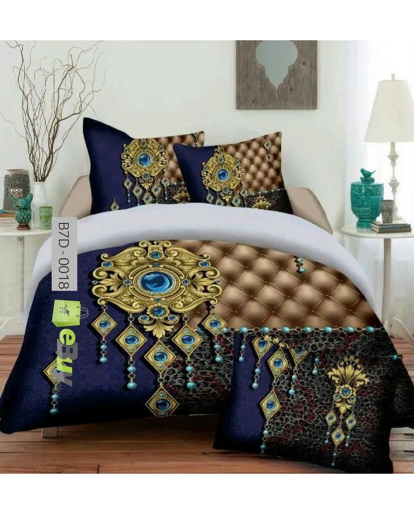 Buy Beautiful Jewelery Design 7d Bed Sheets Online In Pakistan Ebuypk