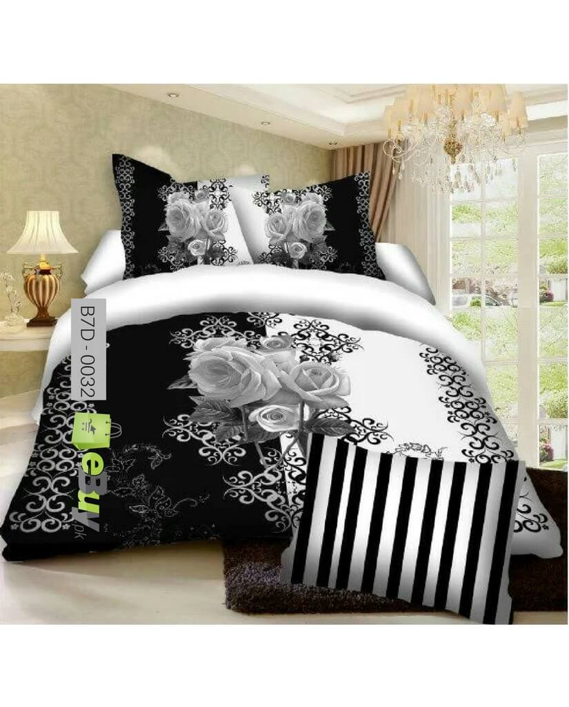 Etonnant 7D Bed Sheets Online In Pakistan