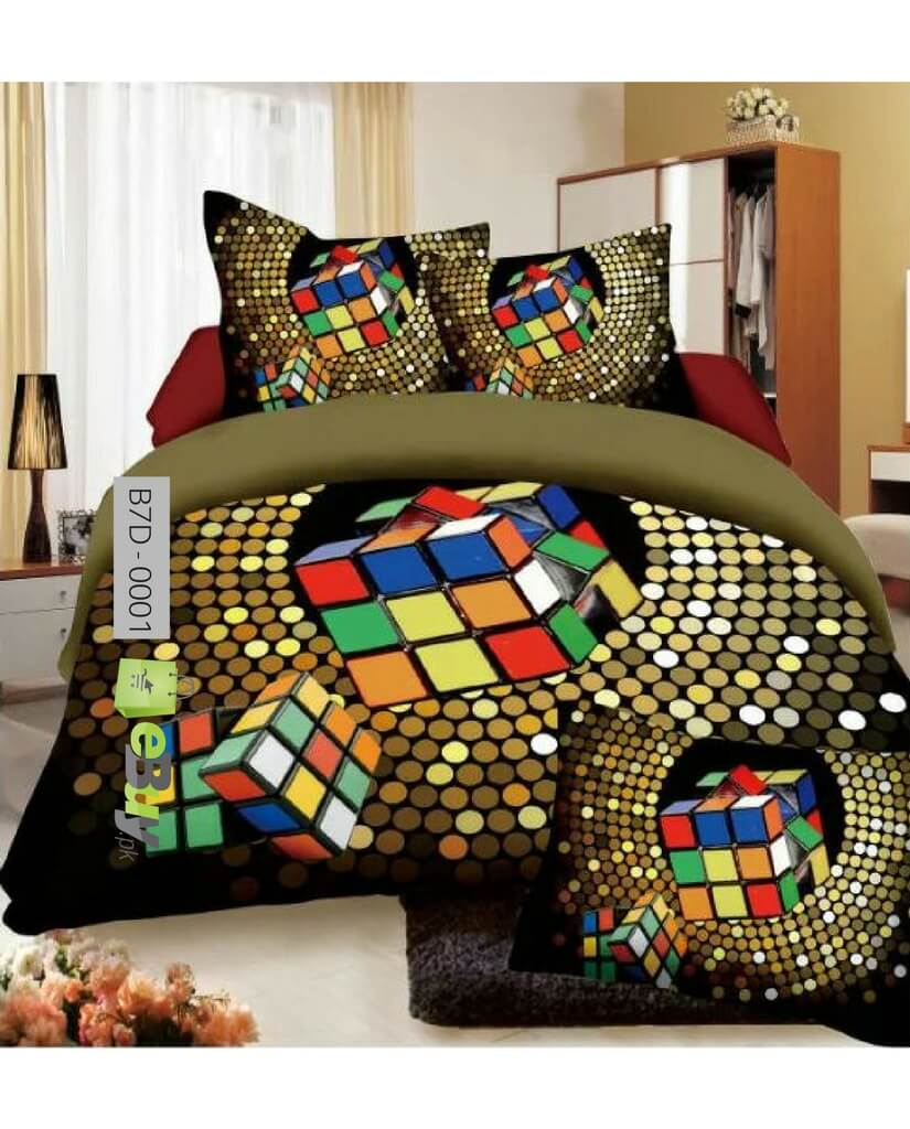 High Quality 7D Bed Sheets Online In Pakistan
