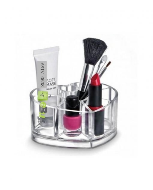 Acrylic Heart Shaped Cosmetic Organizer At Best Price In Pakistan
