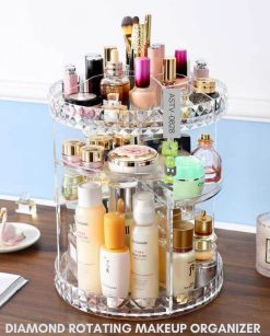 Acrylic Rotating Cosmetic Makeup Organizer Online at Best Price In Pakistan