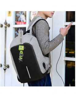 Anti Theft Waterproof Backpack At Best Price In Pakistan