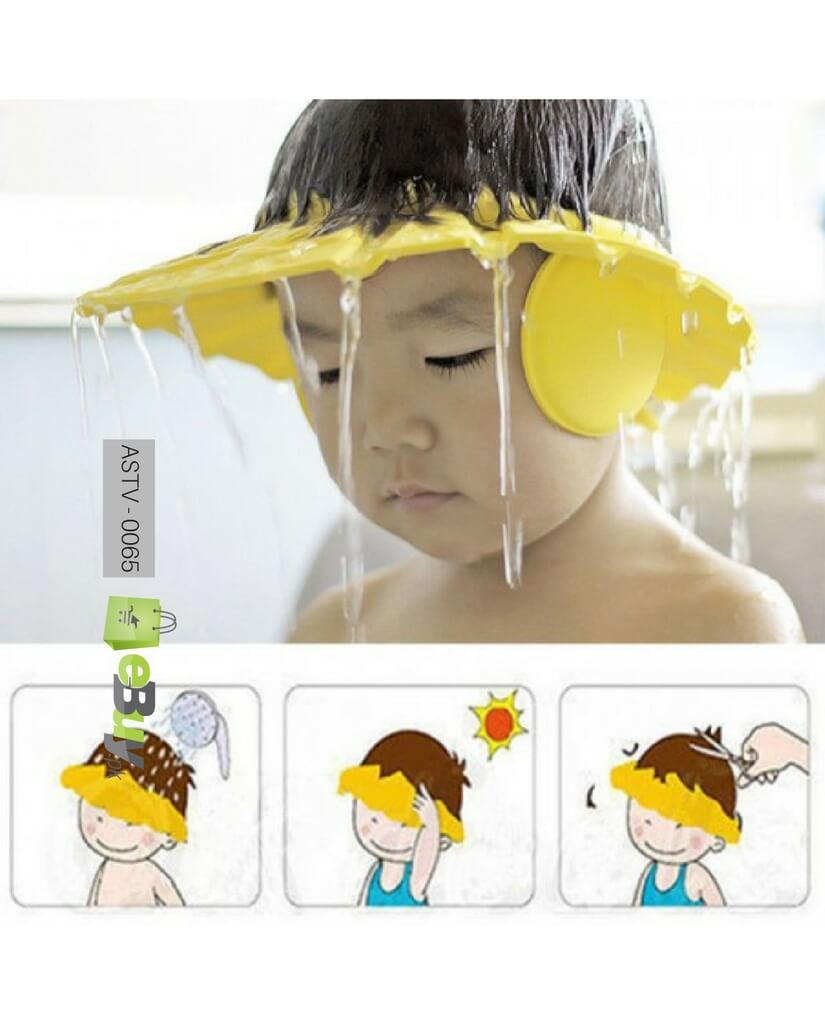 Baby Shower Cap With Ear Protector Online In Pakistan 2