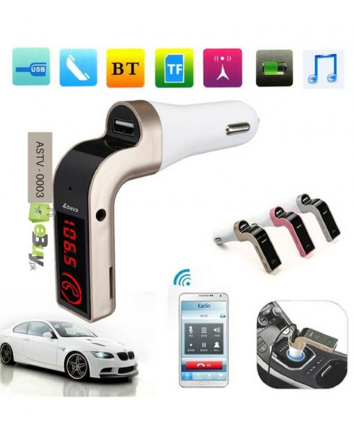 Bluetooth Car Modulator Kit Mp3 Player in Pakistan