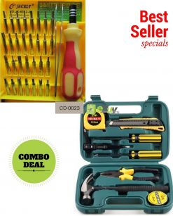 Tool Set - 09 Pieces & Screw Driver Tool Kit in Pakistan