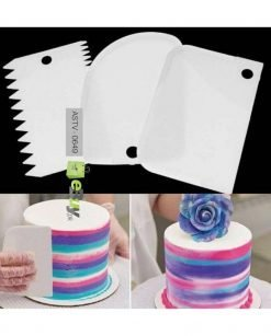 Cake Decorator Icing Combs (3 pcs) At Best Price In Pakistan