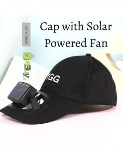 Cap with Solar Powered Cooling Fan Online at Best Price In Pakistan