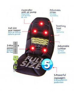Car Massage Backrest Cushion Seat Online in Pakistan