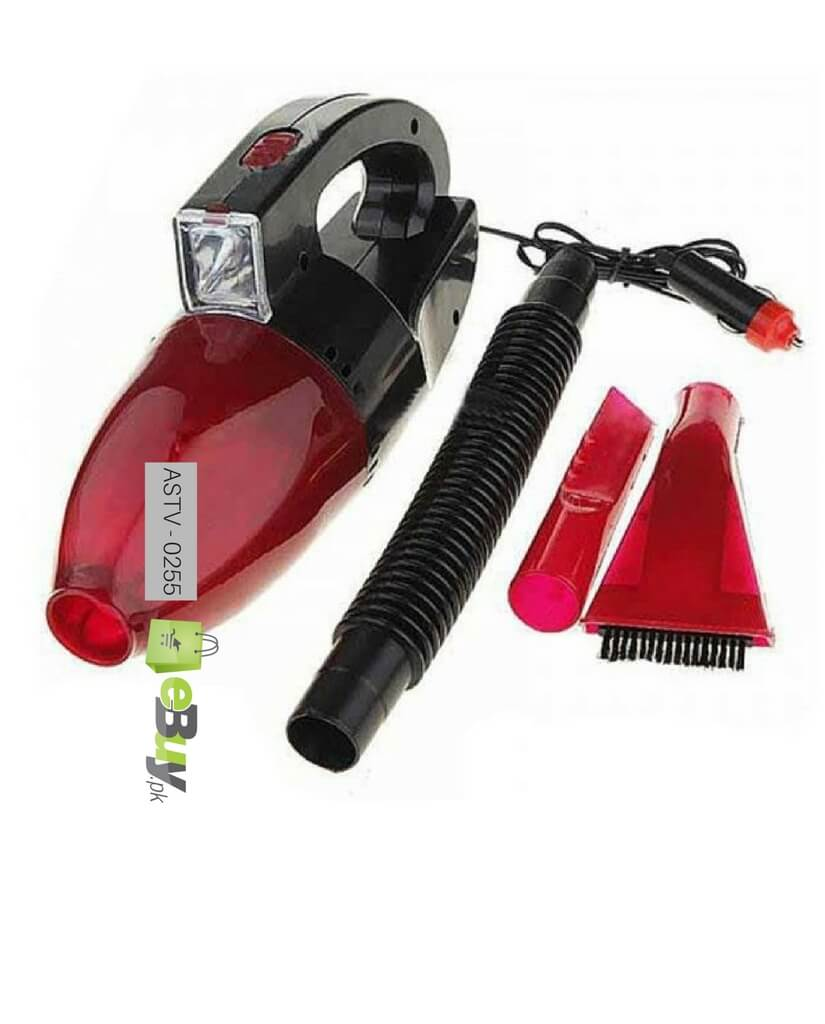 Car vacuum cleaner with led light online in pakistan 4