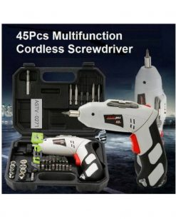 Cordless Screwdriver Kit - 45 Pcs Online in Pakistan 2