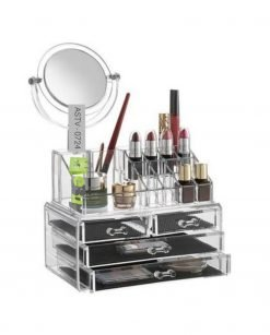 Cosmetic Organizer With Mirror At Best Price In Pakistan