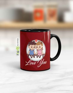 Custom printed Lovely couple mug Pakistan B