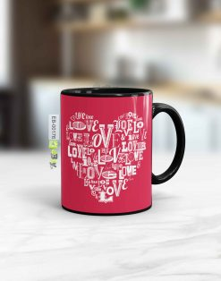 Custom printed Love mug Pakistan B