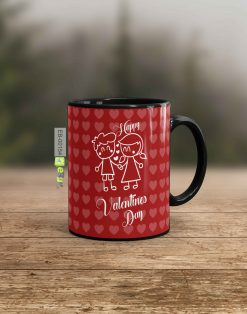 Custom printed Happy Valentine Day mug Pakistan B