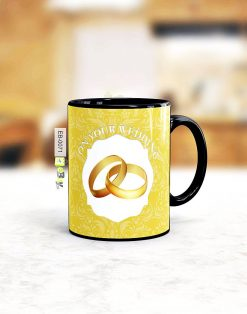 Custom printed Wedding mug Pakistan B