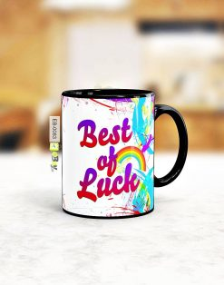 Custom printed best of luck mug Pakistan B