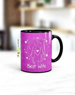 Custom printed best wife mug Pakistan B