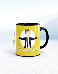 Custom printed congratulation mug Pakistan B