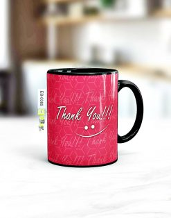 Custom printed thank you mug Pakistan B