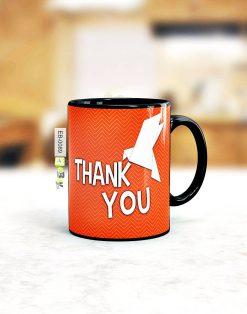 Custom printed thank you mug Pakistan B