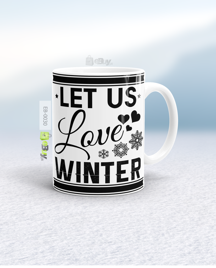 Custom Printed Winter Mug Pakistan W