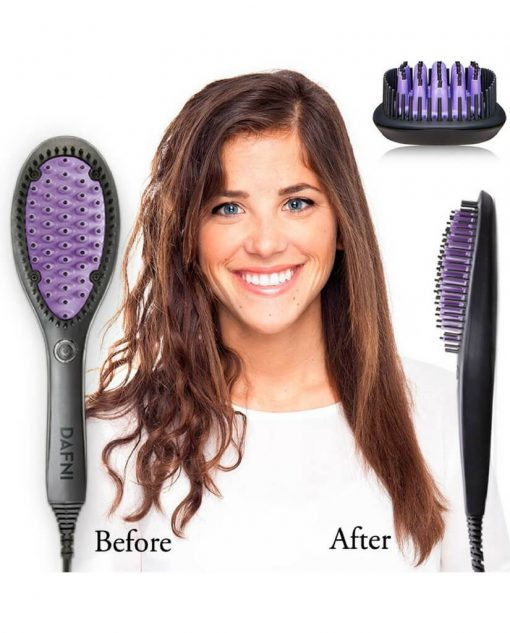 Dafni Hair Straightener Brush Online in Pakistan