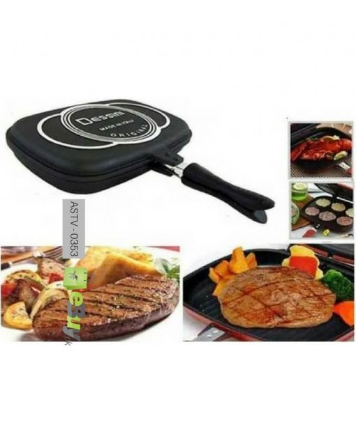 Desini Non-Stick Double Side Grill Pan Online in Pakistan 2