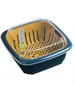Double Layer Drain Basket Box With Lid At Best Price In Pakistan