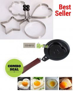 Egg Shaper & Heart Shape Egg Fry Pan Online in Pakistan