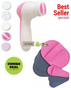 Electric Facial Cleanser & Hair Removal Pads in Pakistan