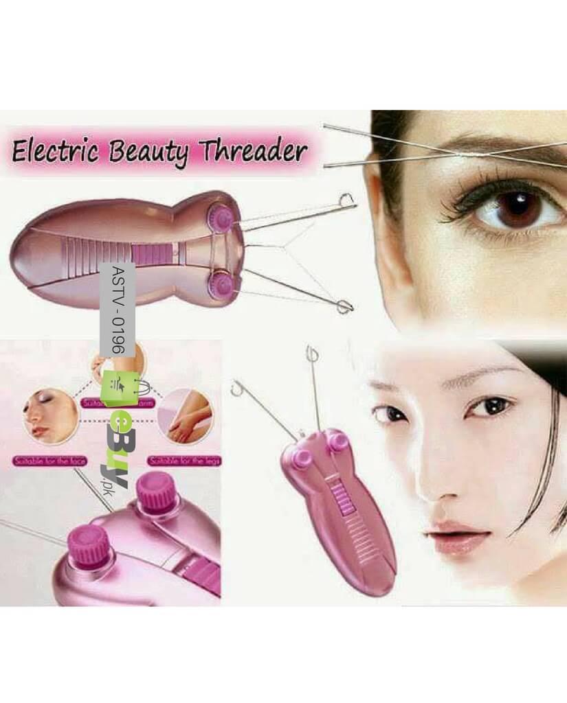 hair threading machine
