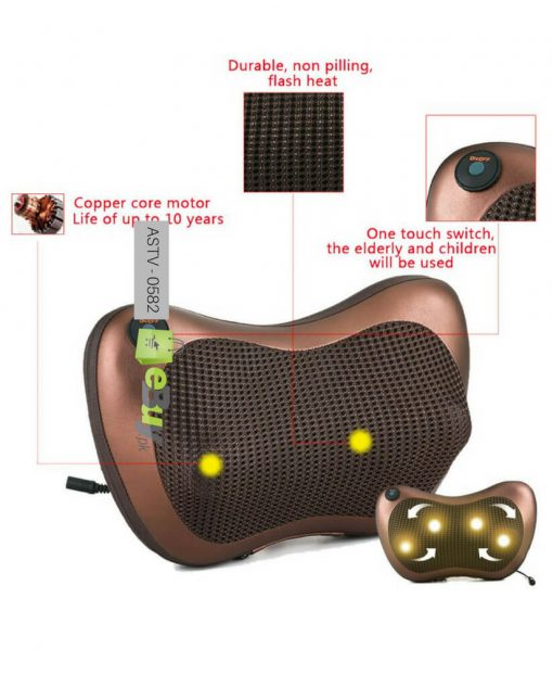 Electronic Car Home Massage Pillow At Best Price In Pakistan 3