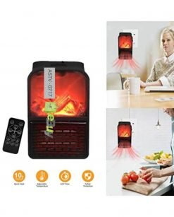 Flame Heater 500W Mini Portable Personal Electric Fireplace Warmer At Best Price In Pakistan
