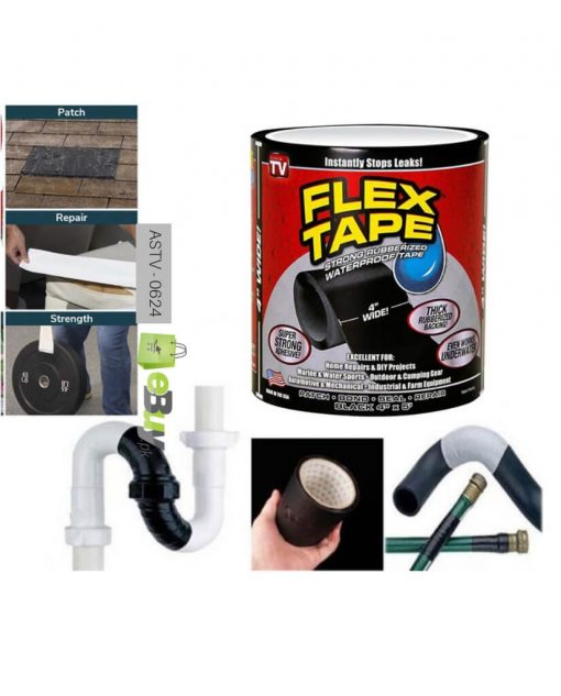 Flex Tape Rubberized Waterproof Tape At Best Price In Pakistan
